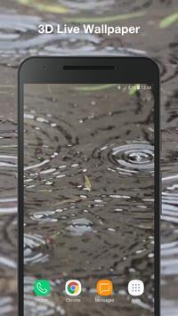 3D Rain Live Wallpaper screenshot 3