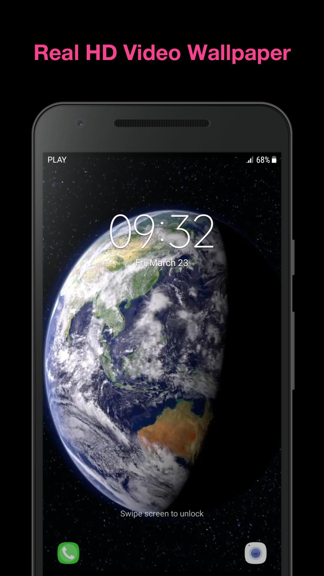 Vraie Terre Fond D Ecran Anime Pour Android Telechargez L Apk