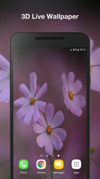 Real Flowers Live Wallpaper poster