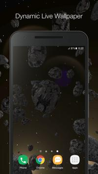 3D Space Live Wallpaper poster