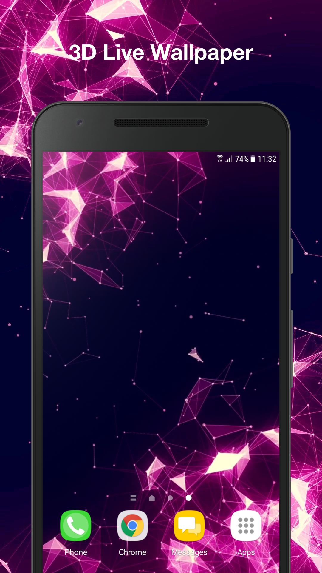 Space Particles 3d Live Wallpaper For Android Apk Download