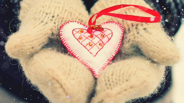 Winter and heart apk screenshot