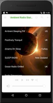 Ambient Radio Stations screenshot 1