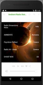 Ambient Radio Stations screenshot 2