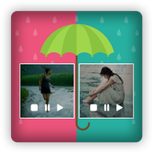 Live Rain Snow Photo Video Editor icon