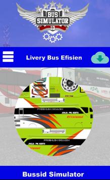 Livery Bus Efisiensi poster