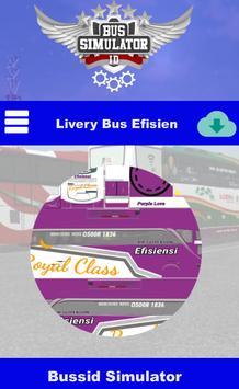 Livery Bus Efisiensi screenshot 1