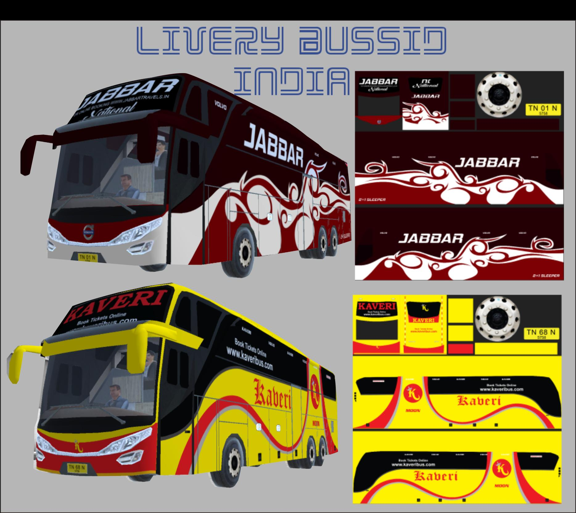 Livery Bussid India for Android - APK Download