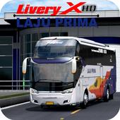 Livery Arjuna XHD Laju Prima icon