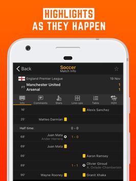LiveScore: Live Sport Updates apk screenshot