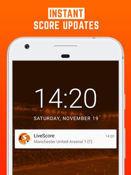 LiveScore screenshot 2