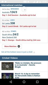Live All Cricket Score poster