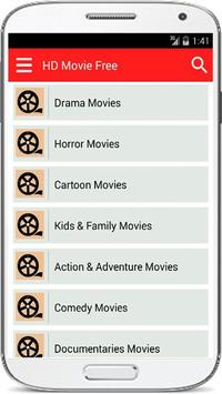HD Movies Free 2017 screenshot 1
