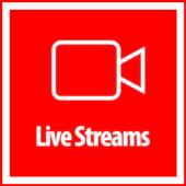 Live Streams - Free icon