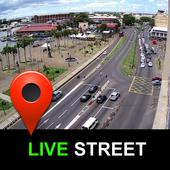 Live Street View ícone