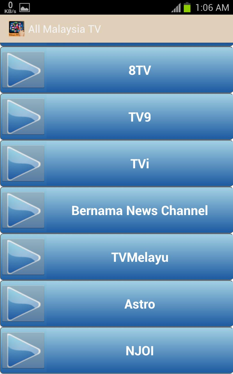 All Malaysia TV Channel for Android - APK Download