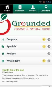 Grounded Natural Foods poster