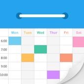 Class Schedule – super broker of work icon