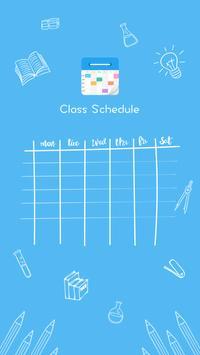 Class Schedule – super broker of work poster
