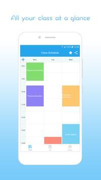 Class Schedule – super broker of work apk screenshot