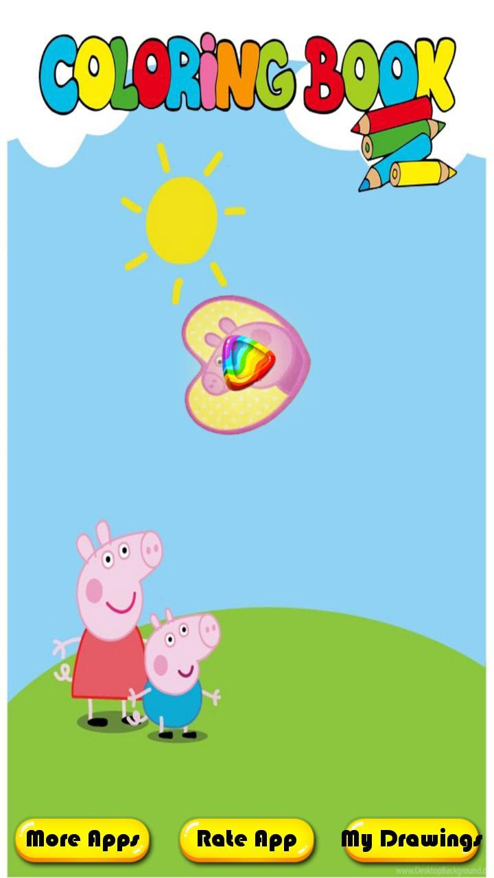 Buku Mewarnai Untuk Pepa Babi For Android APK Download