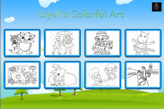 Liyah's Colorful Art screenshot 8