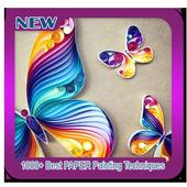 1000+ Best PAPER Painting Techniques icon