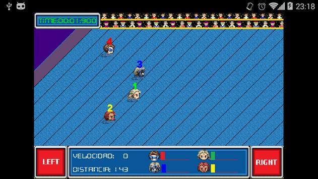 Carreras sobre agua apk screenshot