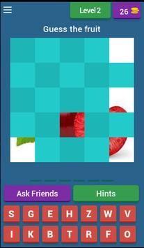 Fruit guess apk screenshot
