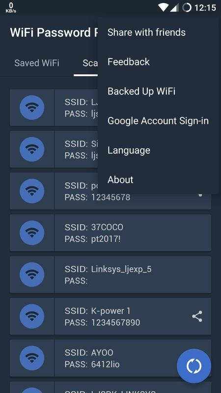 Free WiFi Password Recovery APK Baixar - Grátis ...