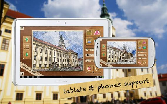 Pencil Camera HD apk screenshot