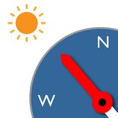 Sensorless Sun Compass icon