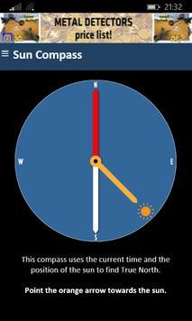Sensorless Sun Compass poster