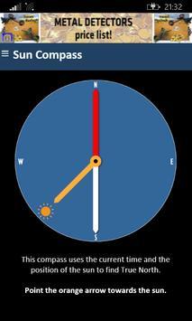 Sensorless Sun Compass apk screenshot