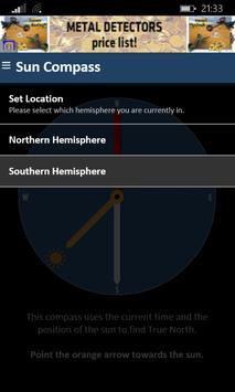 Sensorless Sun Compass screenshot 2