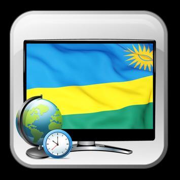 Rwanda TV guide info list poster