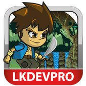 Adventure Jungle : hero boy icon