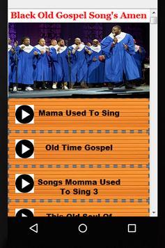 Black Old Gospel Song's Amen screenshot 3