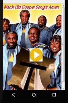 Black Old Gospel Song's Amen poster