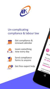 LK Nakashe -The Labour Law App poster