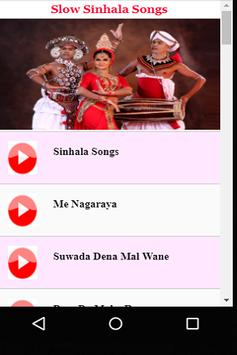 Slow Sinhala Songs screenshot 2