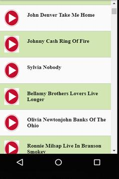 American Country Music & Songs apk screenshot