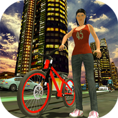Impossible Rooftop Bicycle Stunt Rider icon