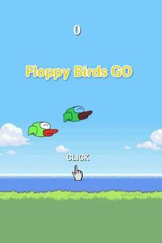 Floppy Bird Go poster