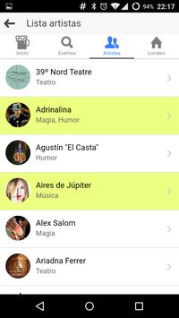 Eventos de Mallorca apk screenshot