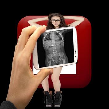 Cool body X-ray girl prank screenshot 1