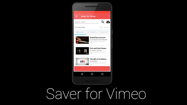 TheSaver for Vimeo Video poster
