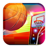 Basketball Game on Track icon