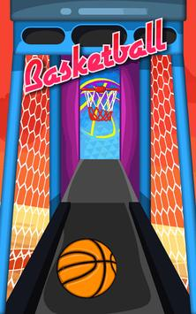 Basketball Game on Track screenshot 4