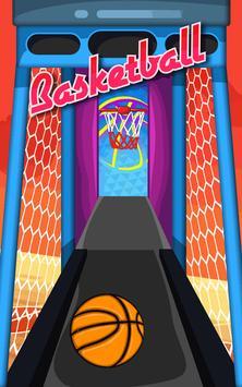 Basketball Game on Track apk screenshot